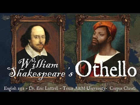 2332 12a Shakespeare's Othello: Historical Background