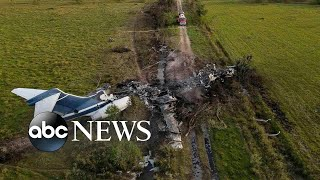 Plane crash, Arbery jury selection, ash clean-up: Week in Photos