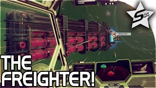 THE FREIGHTER, BASE SCIENTIST!! - No Man's Sky FOUNDATION UPDATE Gameplay Part 2 Update 1.1