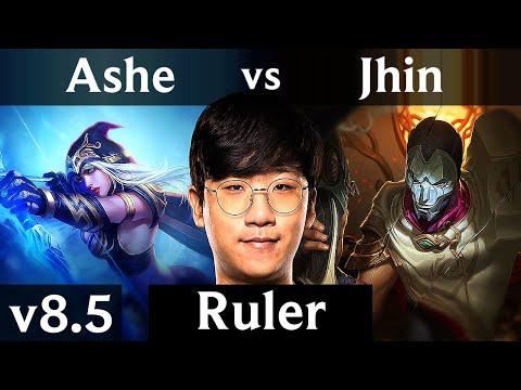 KSV Ruler - ASHE vs JHIN (ADC) /// Korea Challenger /// Patch 8.5