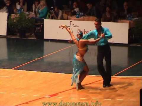 Slovenian open 2006 dancesport latin semi final round