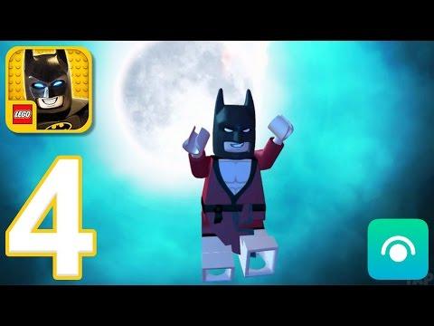 LEGO Batman Movie Game - Gameplay Walkthrough Part 4 - Kimono Batman (iOS, Android)