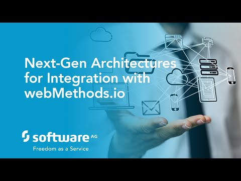 DevCast: Next Generation Architectures for Integration with webMethods.io