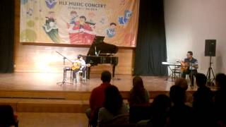 London Bridge is Falling Down (Acoustic Guitar) by Arfa @HLS Music Concert
