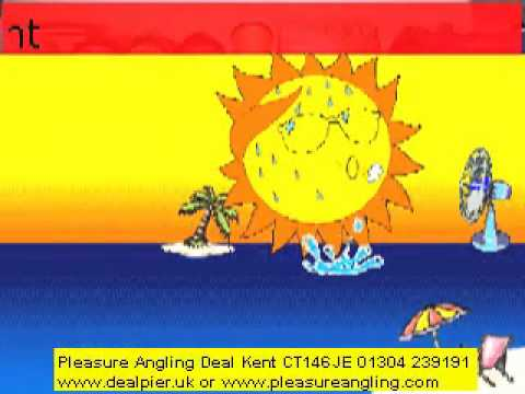 fresh bait in daily @ pleasure angling tackle shop deal kent 14th april 01304 239191