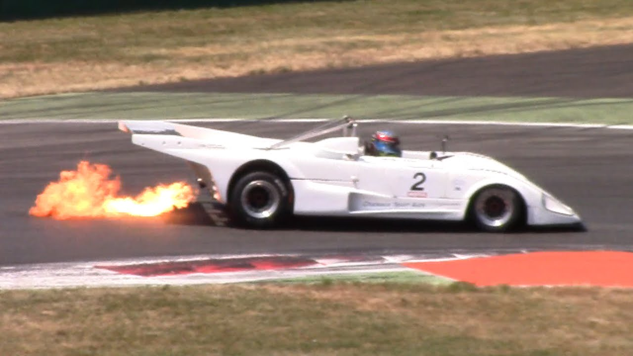 Historic Race Cars Flamethrower: Porsche 935 K3, BMW M1 Procar, Lola ...