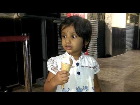 Nani's First softy ice cream ......She liked it .....