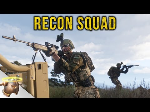 ARMA 3 RECON SQUAD: Tactical scouting on Altis