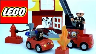 Lego пожарная часть - Обзор конструктора Lego Duplo