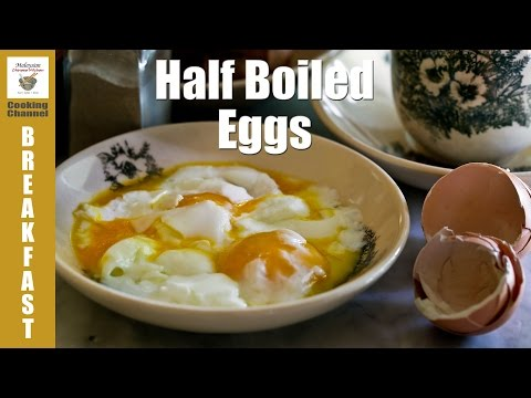 How To Make Perfect Half Boiled Eggs