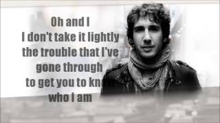 Happy In My Heartache LYRICS~ Josh Groban