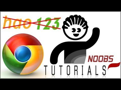Como desinstalar / Tirar / Remover o Hao123 do Google Chrome definitivamente ( Win 7 & Windows 8)