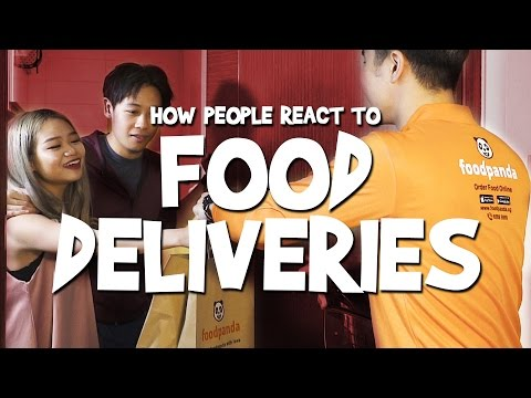 Thumbnail: How People React To Food Deliveries