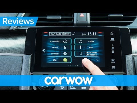 Honda Civic 2018 infotainment and interior review | Mat Watson Reviews