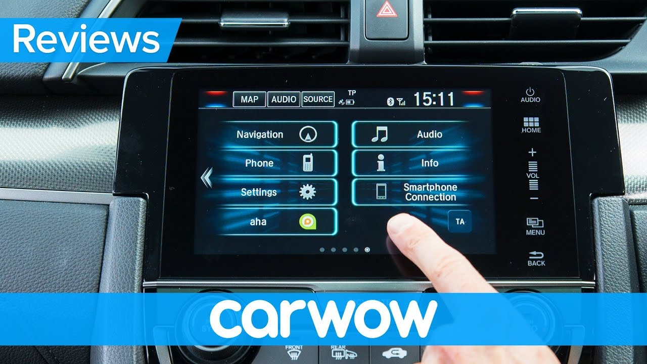 Honda Civic  Infotainment And Interior Review Mat Watson Reviews