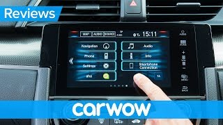 Honda Civic 2018 infotainment and interior review | Mat Watson Reviews
