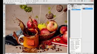 Flying Food. Урок ретуши студийного фото еды в Adobe Photoshop