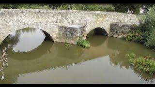 Wasserstand der Aisch in Höchstadt an der Aisch - 14.8.2015 (kurzvideo)