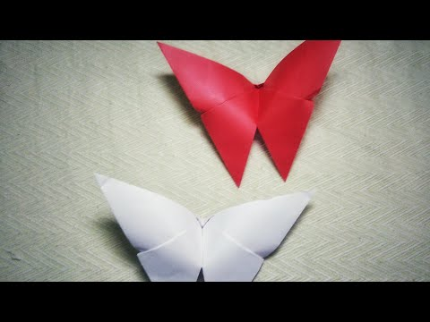 HOW TO MAKE PAPER BUTTERFLY   Easy steps to follow