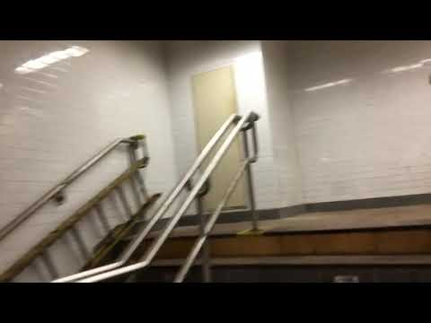 96th Street SOUTHBOUND Unused Platform