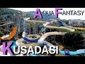Aqua Fantasy Hotel & Aquapark || 4K  POV - Best slides in 5 minutes Best Waterpark in Turkey