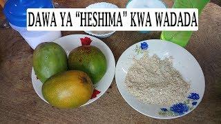 Dawa ya Kurudisha Maumbile yaliyotanuka kwa Wanawake