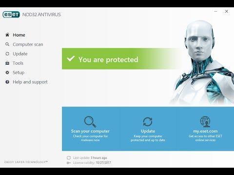ESET TNod Key Install