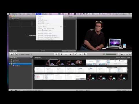 Using Apple Computers : How to Make an iMovie Continuously Loop on a Mac