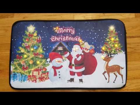 Christmas Musical StepNGlow doormat