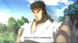 Street Fighter IV Ryu Run 1/3