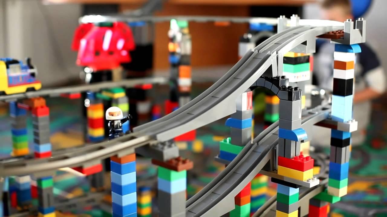 Kolejka Lego Youtube