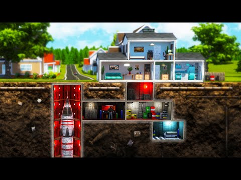 Building The BEST FALLOUT SHELTER EVER in Mr. Prepper