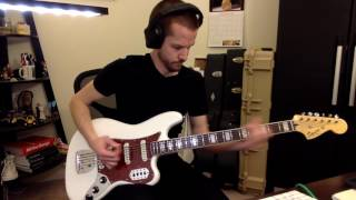 Squier Bass VI Demo (LaBella Flats + Staytrem)