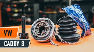 Montáž Sada brzdových čelistí parkovací brzda VW LUPO (6X1, 6E1): video zdarma