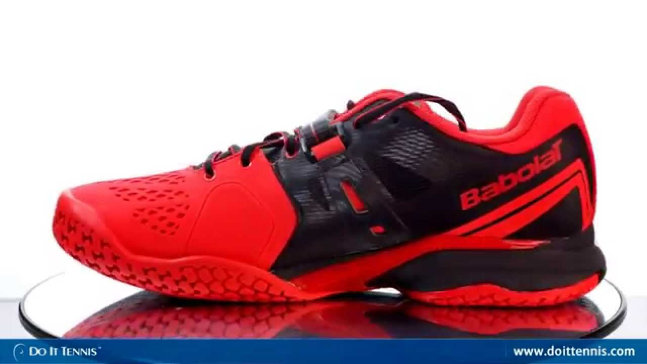 Babolat Men's Propulse BPM Tennis Shoes - YouTube