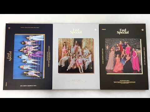 unboxing twice feel special albums