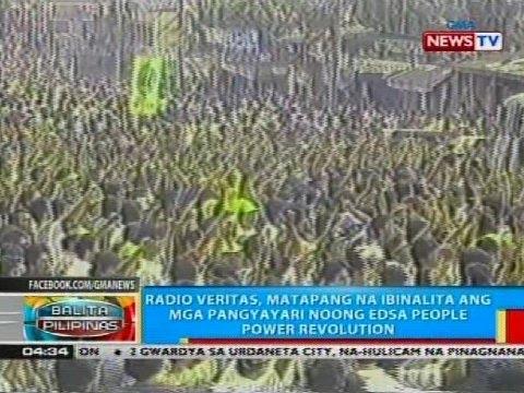 Radio Veritas, matapang na ibinalita ang mga pangyayare noong EDSA People Power Revolution