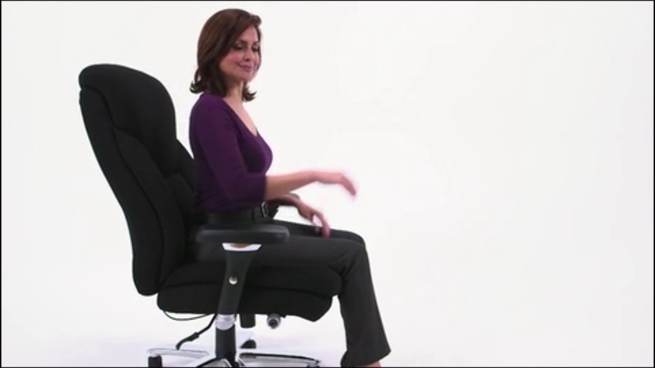 Best Big Tall 400 Lb Capacity Executive Swivel Office Chairs Fitdango Youtube