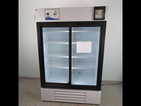 Fisher Isotemp 4 C Dual Glass Door Refrigerator