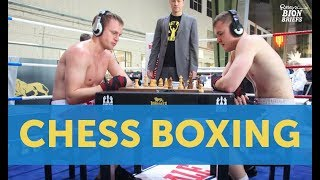Chess Boxing: Brain & Brawn