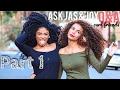 Q&A w/JOYJAH - curly hair tips, meeting, ethnicity, funny stories | jasmeannnn