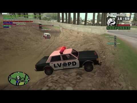 GTA San Andreas WTLS policajná hliadka zasahuje 100 Krat