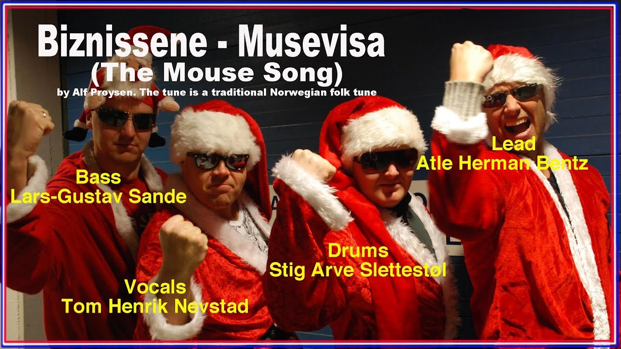Norwegian Christmas Carol - Musevisa (The Mouse Song) - YouTube