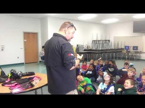 2018 Catawba Elementary School Scuba Diving Career Day