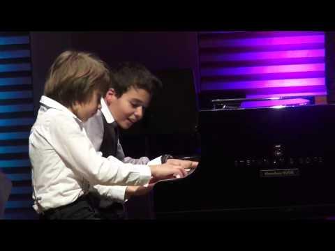 Ilia Antoniadis und Levent Geiger Jugend musiziert 2015