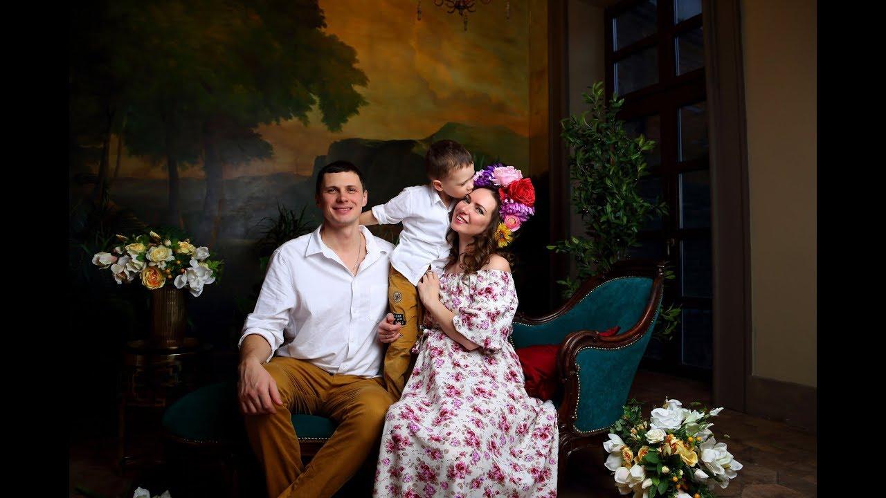 фотосессия моя большая итальянская семья нас
