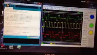 HT1621 LCD controller wave forms