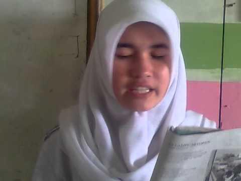Li Maudi Siswi SMK Guna Dharma Nusantara Cicalengka Bandung  , Maca Puisi Sunda