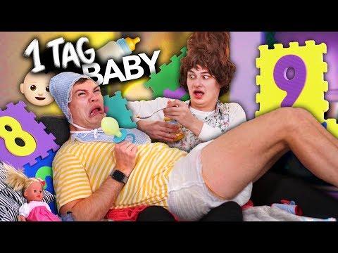 24 STUNDEN ALS BABY VERBRINGEN   Joey's Jungle