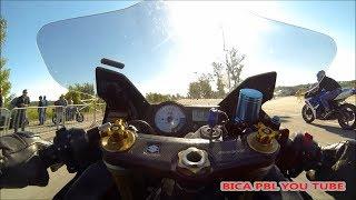 drag racing suzuki gsxr 1000 vs gsxr 600 k6 tuned